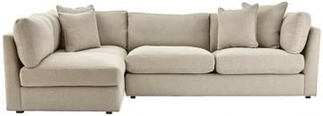 Possibility for basement. Griffith Modern Sectional - Modern Sectional Sofa - Corner Sofa - Eco-friendly Furniture - Pet-friendly Furniture - Kid-friendly Sofas | HomeDecorators.com