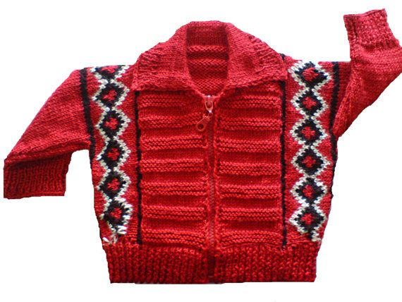 Hand made baby cardigan jacket sweater of babywool by woolopia, $45.00