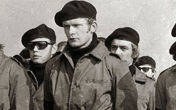 A young Martin McGuinness during his time in the IRA.