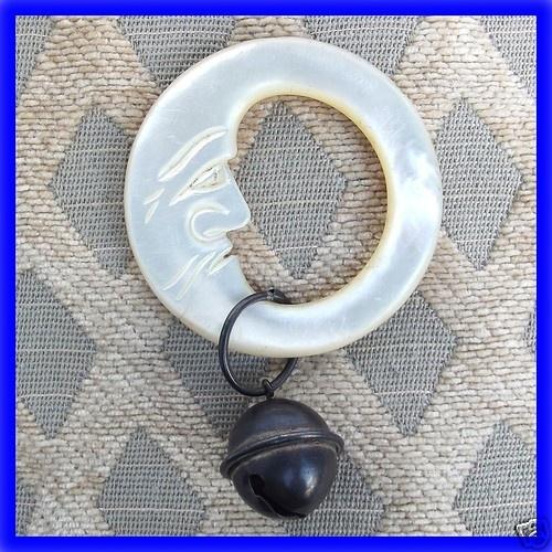 antique teething ring. <3