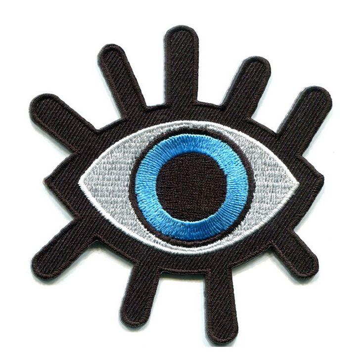 Encontrar Más Parches Información acerca de Globo ocular del ojo del tatuaje wicca ocultismo goth punk retro apliques de hierro en remiendo, alta calidad parche bordado, China parche de palo Proveedores, barato apliques de hierro de Custom Embroidery Patch en Aliexpress.com