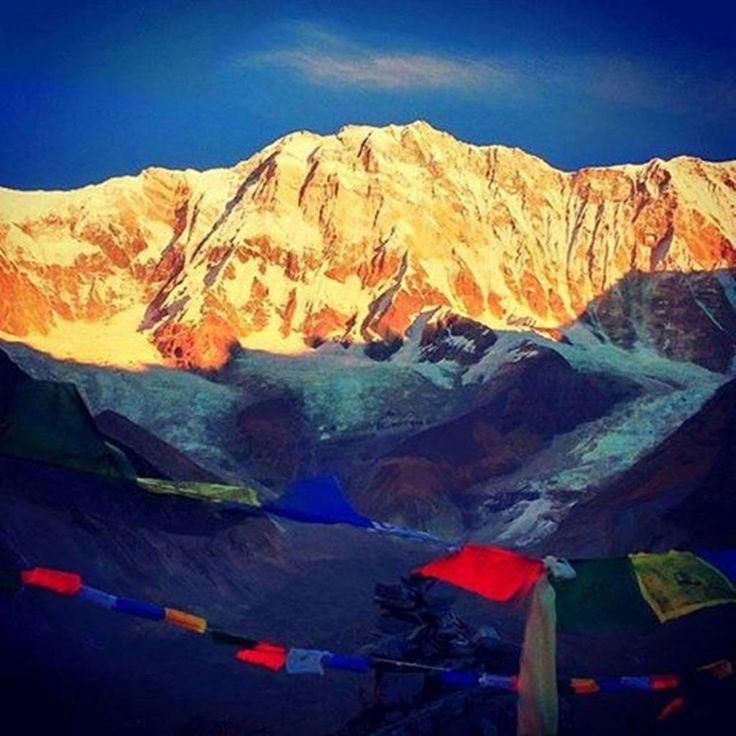 #Annapurna_Base_Camp_Trekking : Photo of the Day Annapurna I 8091 m from Annapurna Base Camp 4130 m Before sunrise ABC_Trek #himalaya #himalayas #himalayans #himalayan #nepal #nepal🇳🇵 #nepalese #ClearSkyTreks #nepali #nepalí #nepali_instagrammers #mountains #bigmountain #bigmountains #traveling #amazing #adventures #outdoors #treking #trip 📷:  @Clear_sky_Treks..