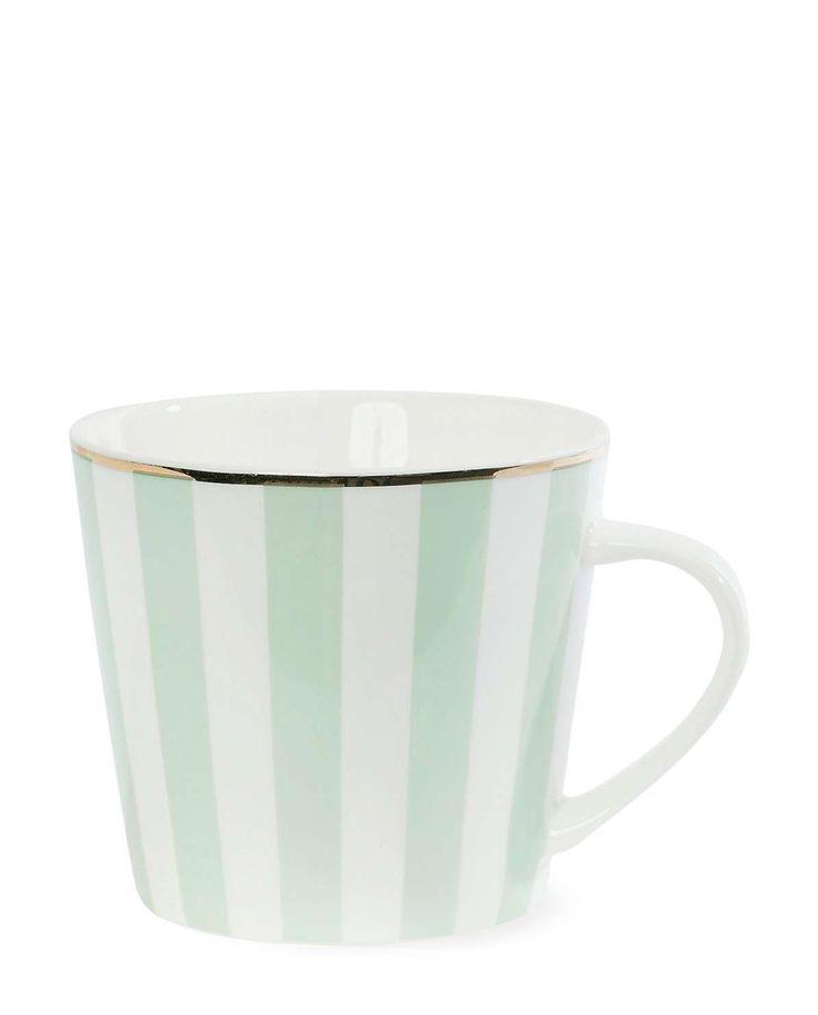 Elegant Kaffeetasse Stripes