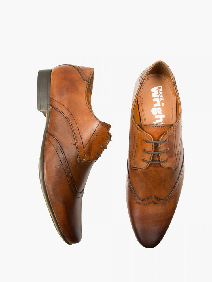 Frank Wright Tan Derby Shoe