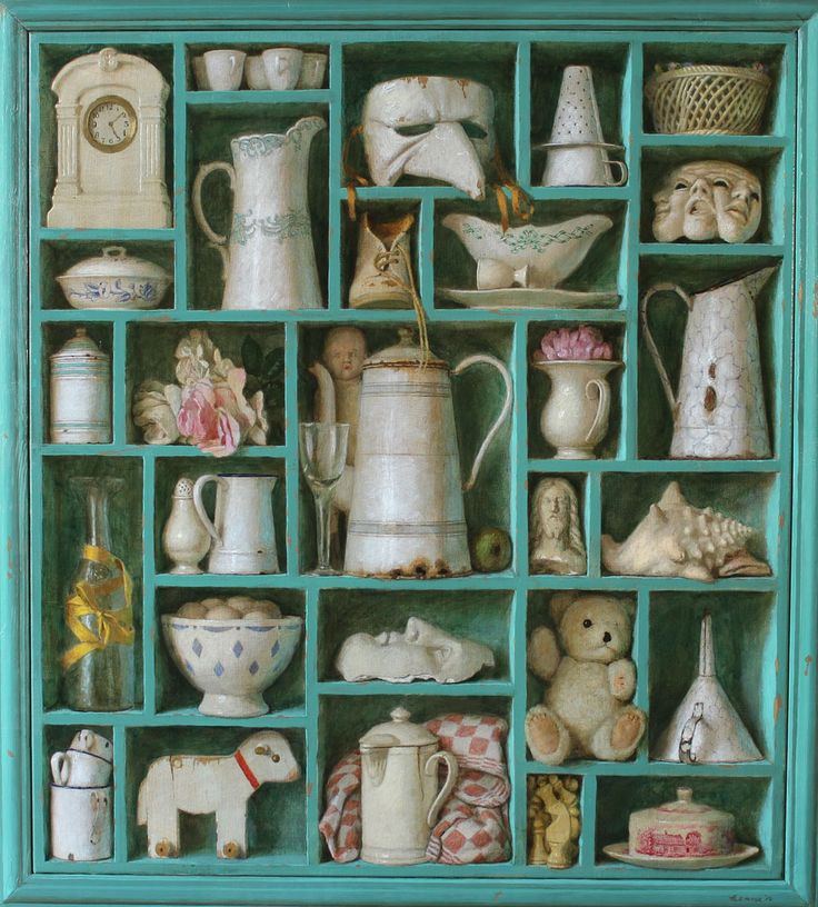 Painting Kenne Gregoire - Clear Memories - acrylic on linen