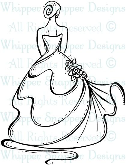 Bride 39 s back wedding images wedding rubber stamps for Wedding dress rubber stamp