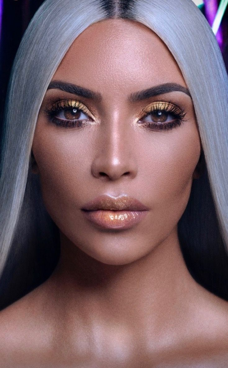 Pin By Socorro De Argeñal On Kim Kardashian Is Perfection Kim Kardashian Makeup Looks Kim Kardashian Makeup Kardashian Makeup