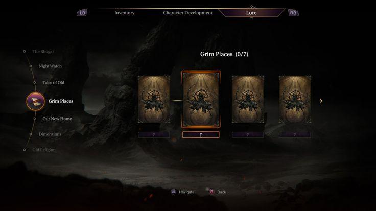 微博 文章 - 【UI精品】《LordsoftheFallen堕落之王》游戏界面设计