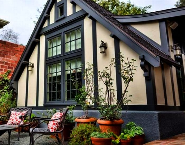 Внешний вид домика Tudor
