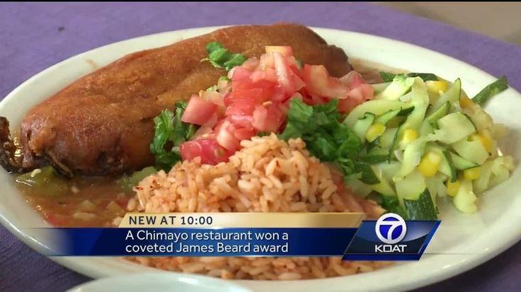 Rancho de Chimayo wins James Beard recipe