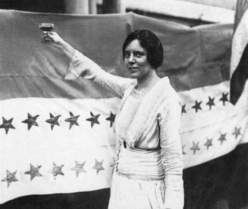 Alice Paul was a leading activist in women's rights throughout the 1900s. She helped form the National Women's Party and led the suffrage movement. Her participation in meetings and demonstrations led to multiple arrests, hunger strikes, and force-feedings. Once the 19th Amendment was ratified, Paul turned her attention to equal work rights for women. In 1923, she wrote the Equal Rights Amendment and launched what would be for her a life long campaign to win full equality for women.