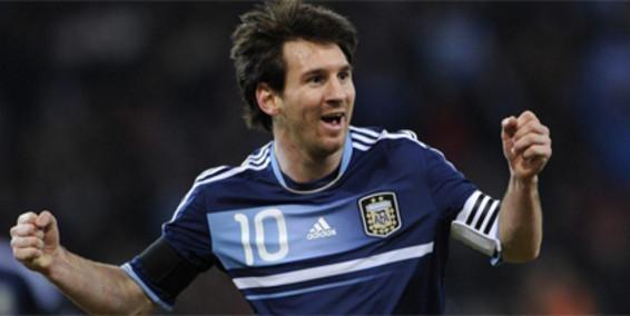 Groso Messi, hoy te falto 1 para la media docena!