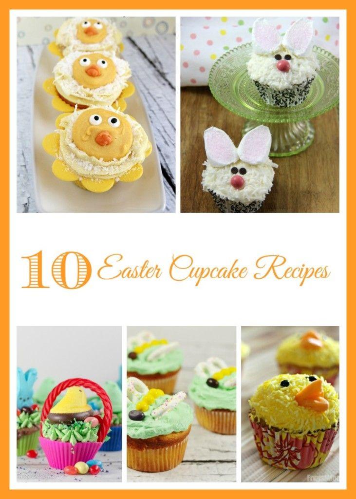 10 Easter Cupcake Recipes