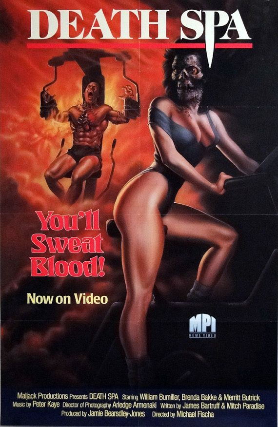 Death Spa (1989) Stars: William Bumiller, Brenda Bakke, Merritt Butrick, Robert Lipton, Alexa Hamilton, Ken Foree ~  Director: Michael Fischa