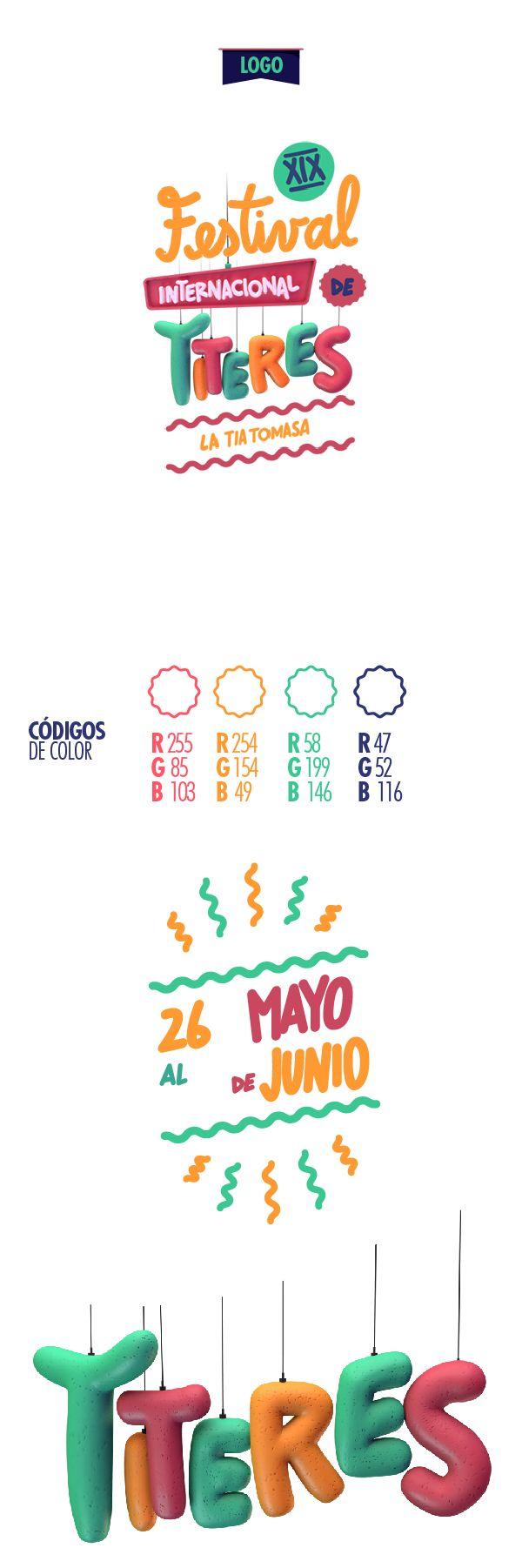 XIX Festival Internacional de Titeres La Tia Tomasa on Behance