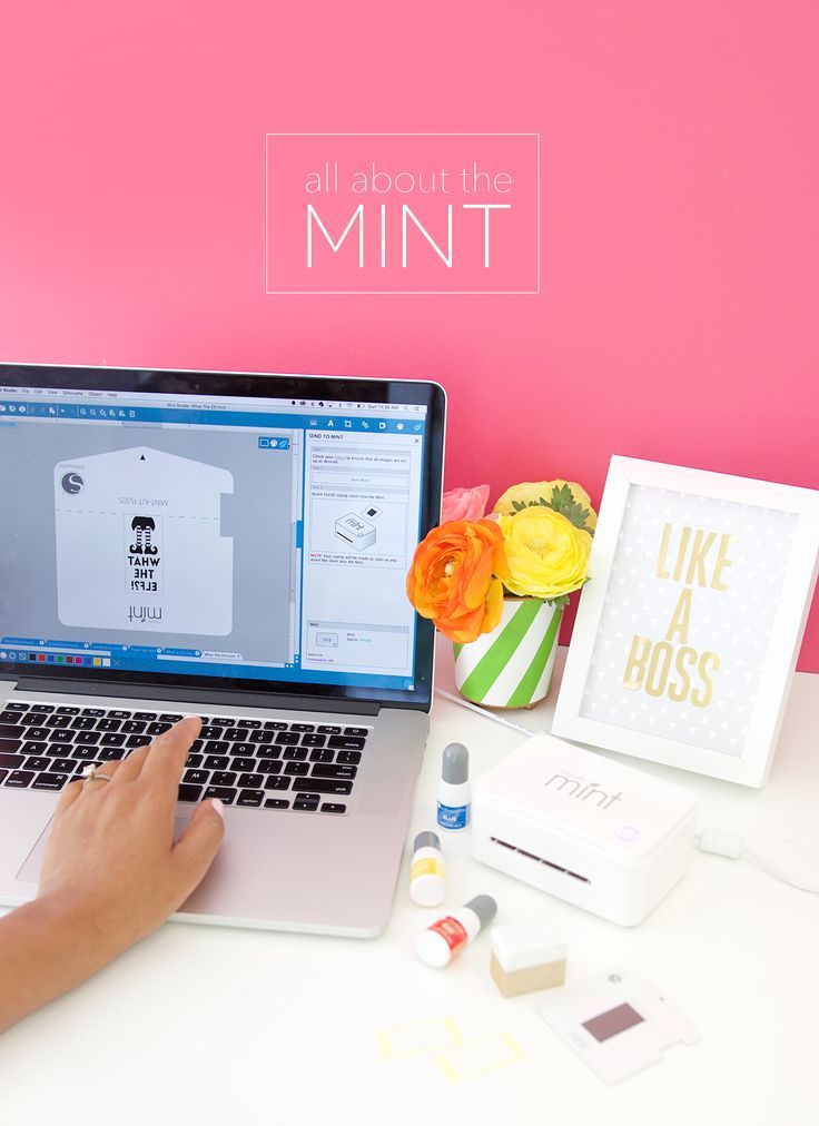 All About the Silhouette Mint Stamp Maker - Damask Love