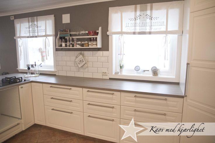 Moderne kjøkken inspirasjon   google søk spiseplass overgang i ...