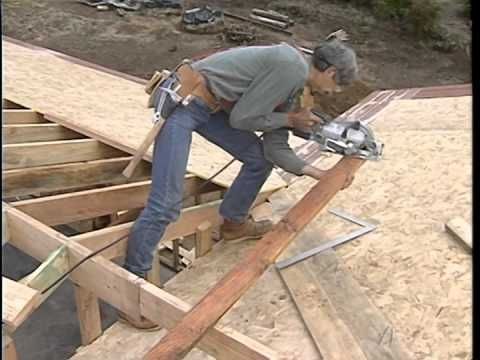 how to build a gable end wall