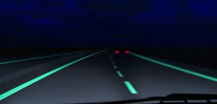 Parlayan yollar kılavuzumuz olacak! Bir otoyolda ilerliyorsunuz, şerit çizgileri parlıyor, yolunuzu aydınlatıyor. Yol ıslak ve kaygansa, yol ortasında parlak kar figürleri belirmeye başlıyor. Kısa süre içinde akıllı yolları kullanacağız... #yeşilekonomi #yeşilgelecek http://bit.ly/1tnhx1c