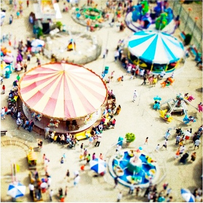 Coney Island. Brooklyn. NYC.: Carnivals, Art Prints, Amusement Parks, Canvas, Summer Fun, Carousels, Tiltshift, Coney Islands, Tilt Shift