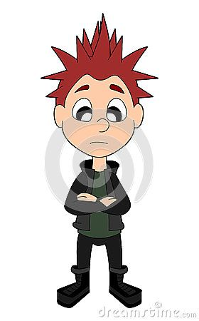 Download Punk Boy Cartoon Stock Image for free or as low as 4.22 Kč. New users enjoy 60% OFF. 20,076,916 high-resolution stock photos and vector illustrations. Image: 35446181