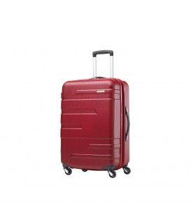 Samsonite - Stratford - Valise 21.5'' rigide format cabine 4 roues - Rouge