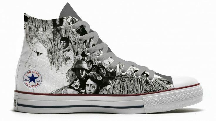 beatles shoes converse