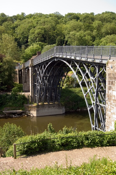 Ironbridge World Heritage Site in Shropshire - home of the Industrial Revolution (and Merrythought teddy bears)