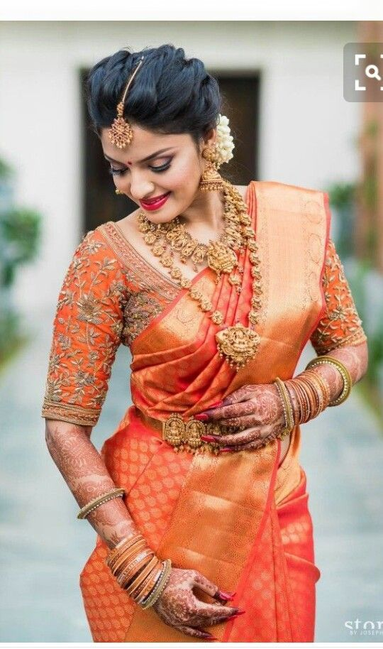 Sparkling South Indian Bride #Southindianbride