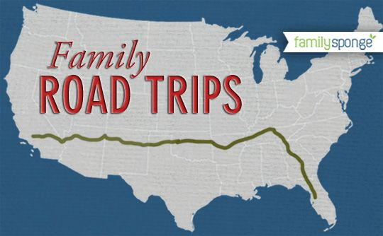 Cross Country Family Road Trip from California to Florida.  Fun ideas for travels with kids.