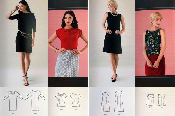Sew Well Famous Frocks Little Black Dress Inspiration Modern