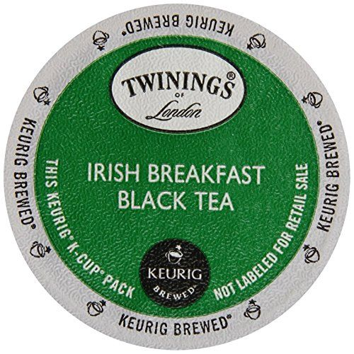 Twinings Irish Breakfast Keurig KCups 12 Count ** Click image for more details. (This is an affiliate link and I receive a commission for the sales)