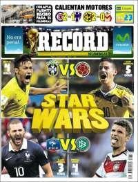 Mundial Brasil 2014 Record jul4/14