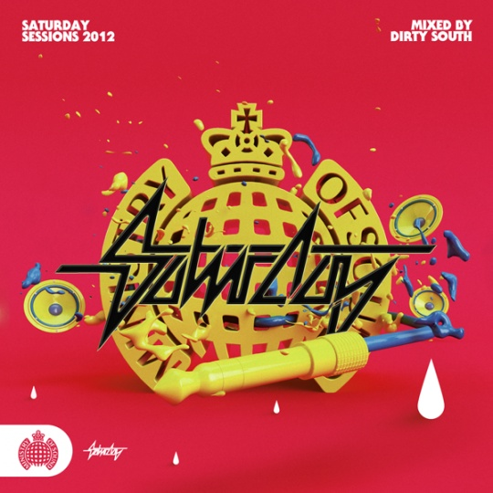 MINISTRY OF SOUND – SATURDAY SESSIONS by Peter Tarka    Awesome Creative Typography