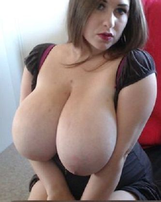 Big breast mom