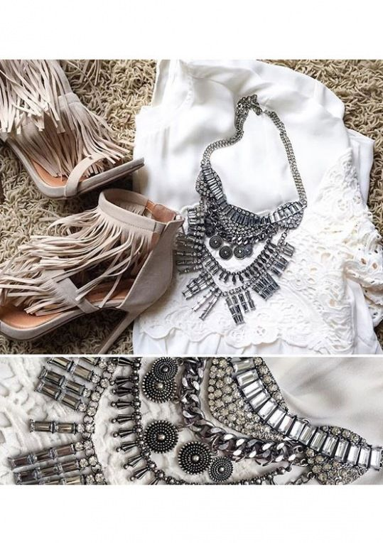 Tribal #Boho Statement #Necklace 19,90 € #happinessbtq
