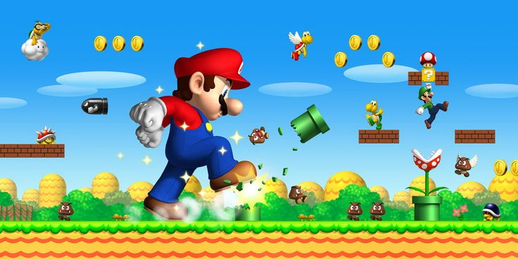 Classic game, super mario in http://www.bestgbagames.co/