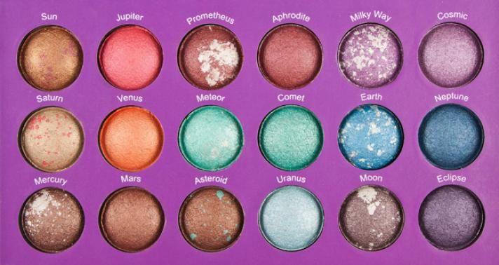 1 PC/Lot maquillaje cosméticos BH Chic Galaxy 18 Color de Baked Eyeshadow Palette envío gratis en Sombra de Ojos de Salud y Belleza en AliExpress.com | Alibaba Group
