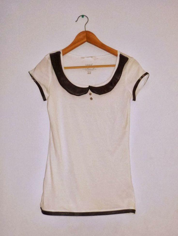 DIY #5 : Personnaliser un tee-shirt blanc