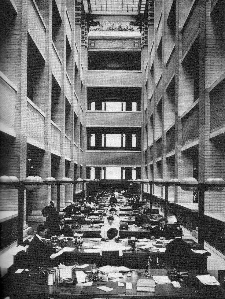 Larkin Building Frank Lloyd Wright Chapter 22- Modern For...