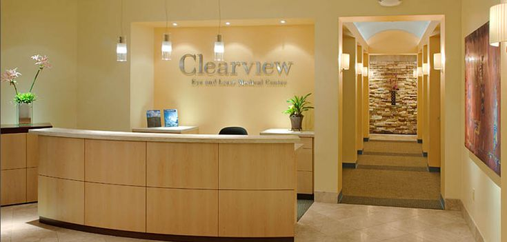 10 best images about eye clinic on pinterest waiting for Clinic interior design