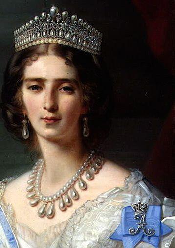 Winterhalter, Francois Xavier - Portrait of Princess Tatyana Alexandrovna Yusupova