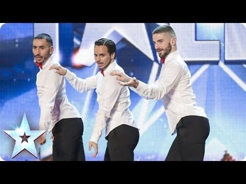 Yanis Marshall, Arnaud and Mehdi in their high heels spice up the stage | Britain's Got Talent 2014 - YouTube