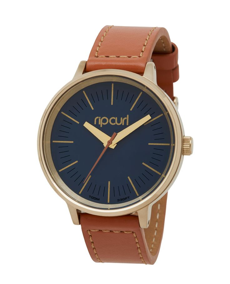 Lindsay Gold PU Leather | Womens Style Surf Watches | Rip Curl Australia