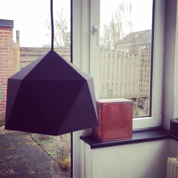 DIY geometrische lamp