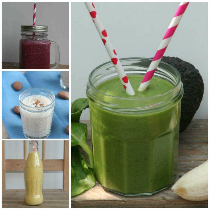 Een overzicht van 5 smoothie recepten met een aantal praktische tips. www.lekkeretenmetlinda.nl