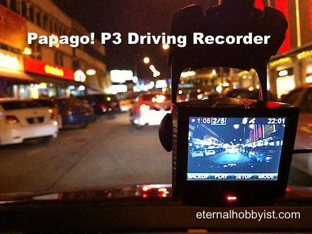 Papago! P3 Driving Recorder