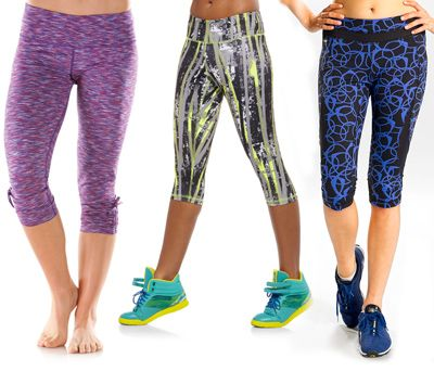 Inject some energy into your workout routine with these bold, fashion forward exercise pants