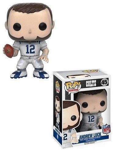 "Funko Pop Andrew Luck NFL Indianapolis Colts 3.75"" Vinyl Bobble Head Figure Toy #Funko #IndianapolisColts"