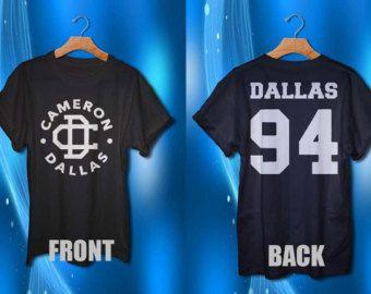 cameron dallas Shirt magcon boys shirt dallas 94 t-shirt for men and women tee shirt 2 side design shirt S M L XL XXL available size